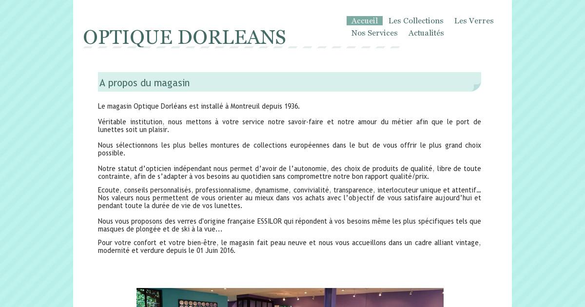 OPTIQUE DORLEANS - Les Collections fa2a1d84527f